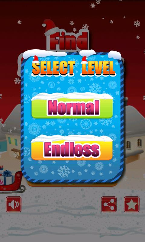 Find Santa (Kids Puzzle)- screenshot