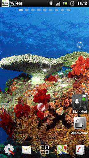 水中サンゴ礁LWP