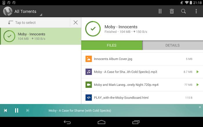 µTorrent® Pro - Torrent App- screenshot