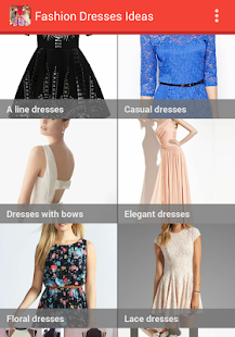 fashion dresses ideas screenshot thumbnail - Fashion Design Ideas