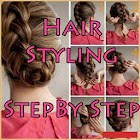 Hair Styling Step By Step icon
