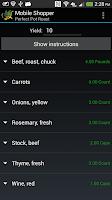 Screenshot of MobileShopper 2