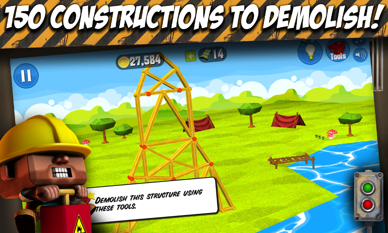 Demolition Duke- screenshot