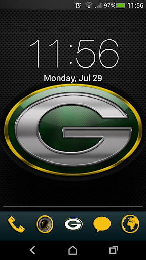 Packers theme 12in1 w GoSMS