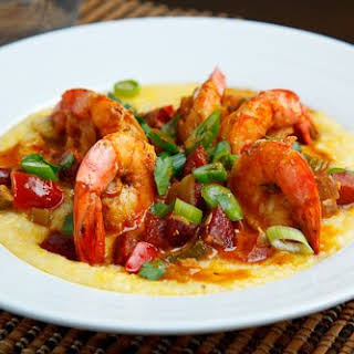 Shrimp and Andouille Grits.