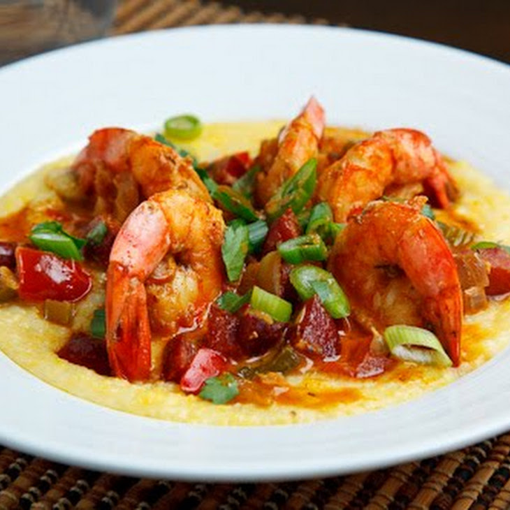 Shrimp and Andouille Grits Recipe