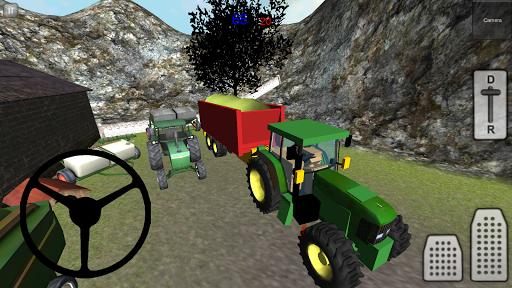 农场青贮饲料运输车3D