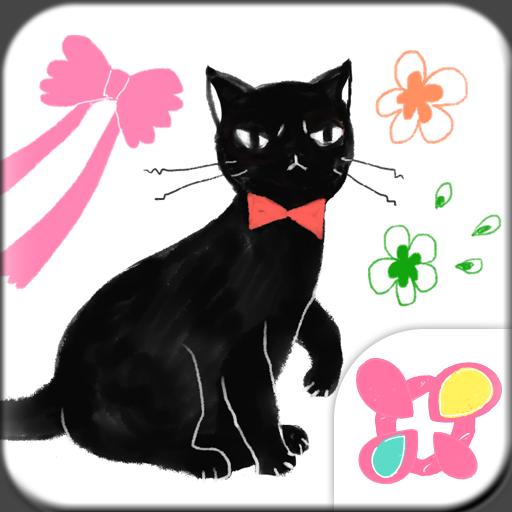 Girly Wallpaper Fancy Cat Icon