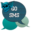 GO SMS - Skull Wings 2 icon