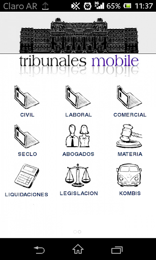 tribunales mobile
