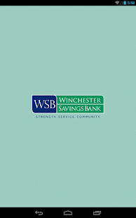 Winchester Savings Bank-Tablet- screenshot thumbnail
