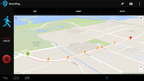 The Trackers Gps App