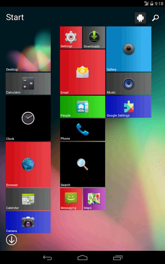 Androse 8 Pro - WIndows Clone - screenshot