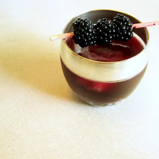 Blackberry Bourbon Wine Cocktail