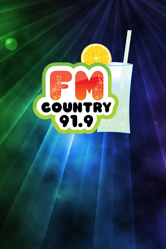FM Country 91.9 MHz.