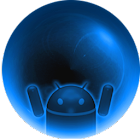 AOKP Plantet Android Blue Free icon