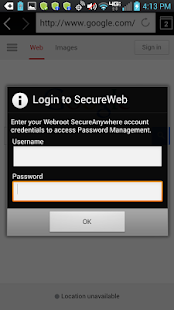 SecureWeb Browser- screenshot thumbnail
