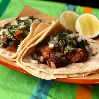 Ponzu-Marinated Carne Asada Tacos