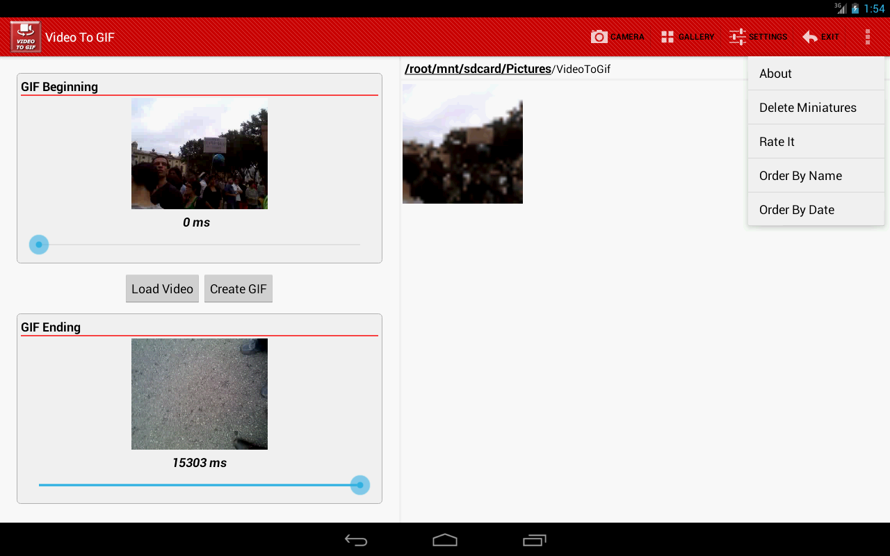 Video To GIF Apl Android Di Google Play