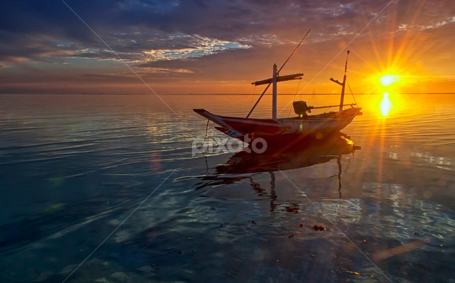 by Ahmad Sahroni - Transportation Boats