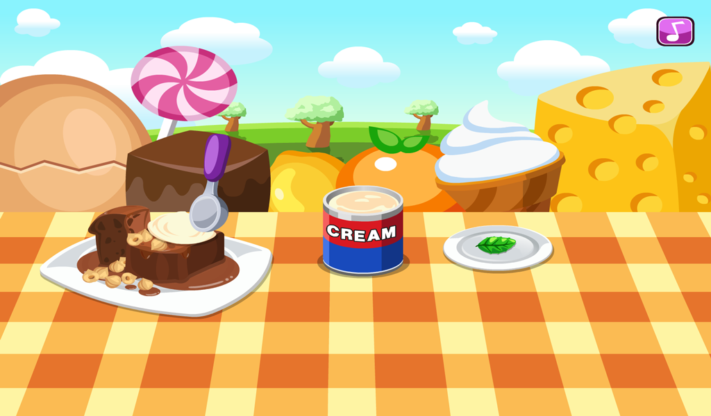 Cooking Sticky Pudding- screenshot