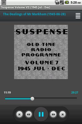Suspense OTR Vol 7 1945