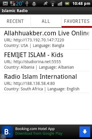Islamic Radio- screenshot
