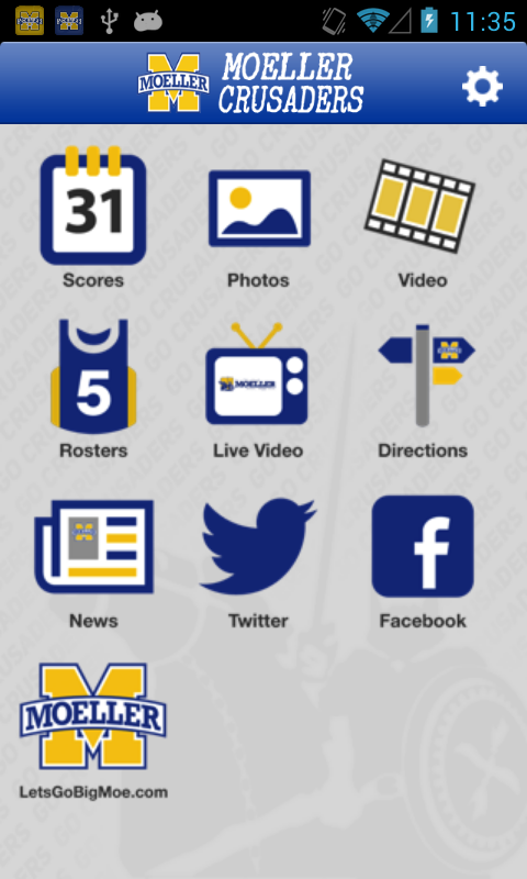 Moeller High School Sports - screenshot