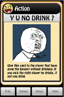 Screenshot of 4Chan Drinking Game