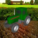 Tractor Farming 3D icon