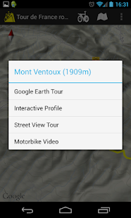 Cycling the Alps tour routes- screenshot thumbnail