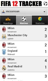 Tracker - for FIFA 12 Screenshot 2