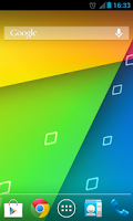 Screenshot of Jelly Bean 4.3 Nexus Wallpaper