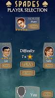 Screenshot of Spades Free