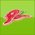 frisches Fleisch vom Bauernhof icon