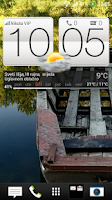 Screenshot of HTC Sense 5 clock & weather  +