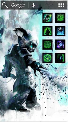 ADW Theme - GW2 Necro