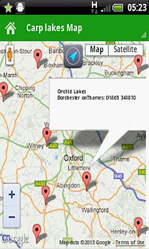 FREE UK Carp Fishing - GPS