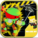 Turtles Fighting Ninja Games icon
