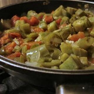 Okra and Tomatoes II
