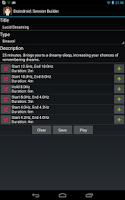 Screenshot of Isochronic & Binaural Beats