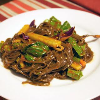 Spicy, Sweet and Vinegary Noodles (Bibim Guksu).