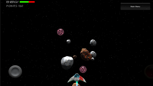 Free Asteroid 3D Game