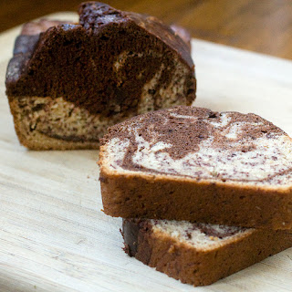Marbled Banana Bread.
