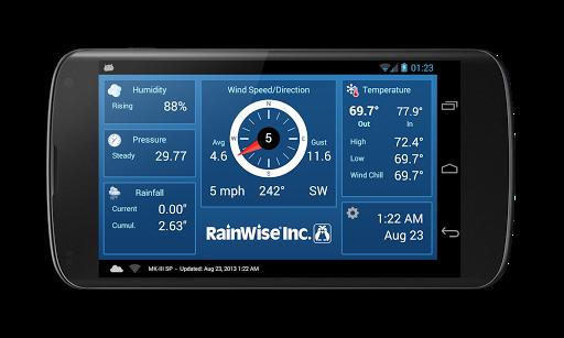 RainWise - Real-time Weather