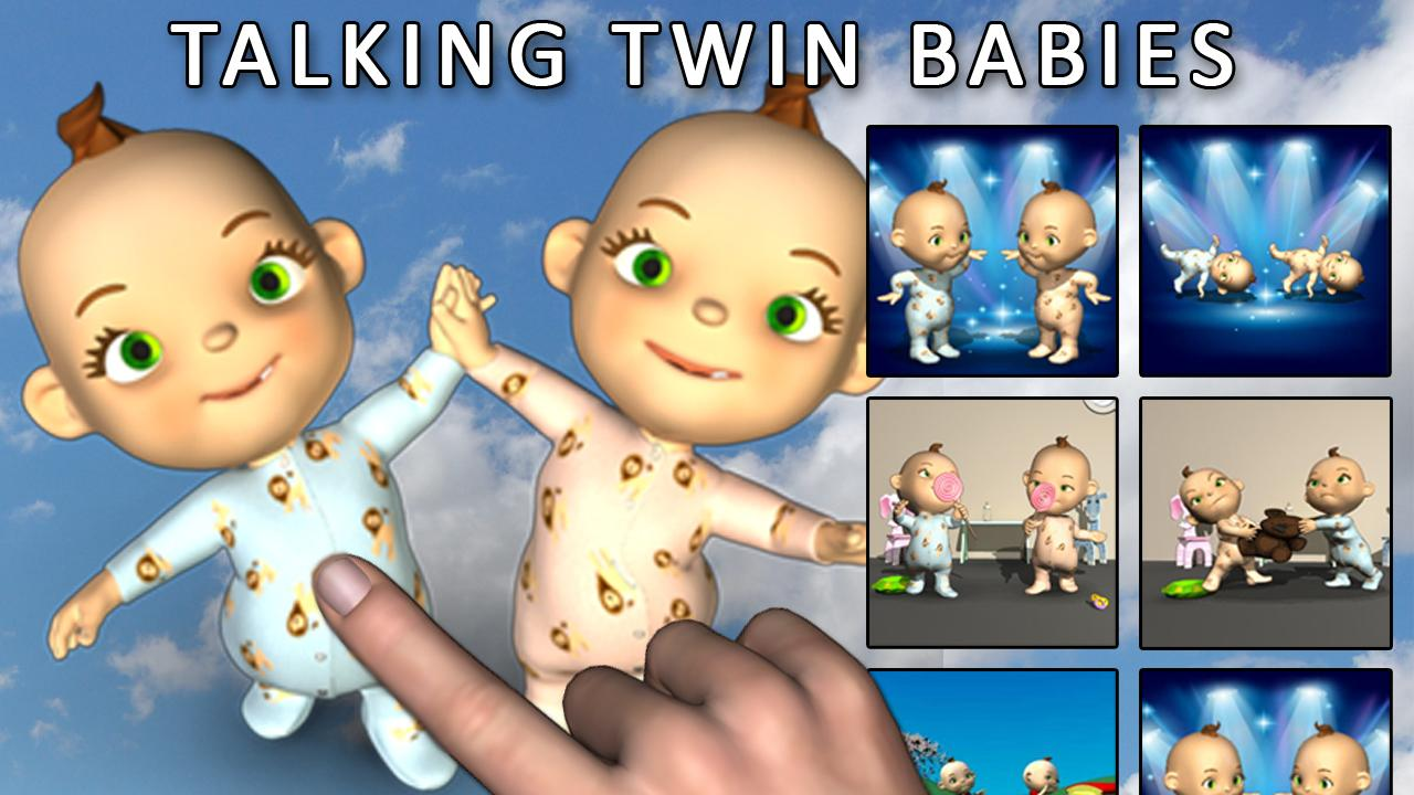 Talking Baby Twins - Babsy - screenshot