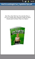 Screenshot of Losing Weight Fast  Diet Tips