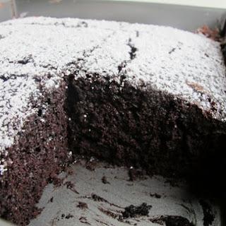 Mocha Wacky Cake