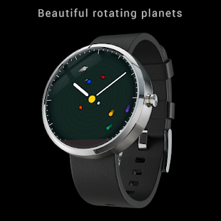 planets rotating wrist watch - photo #43
