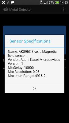 Metal Detector - screenshot